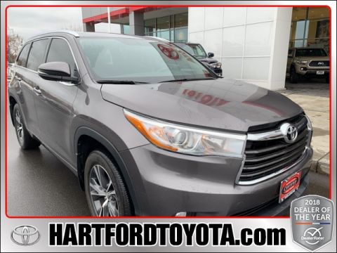 Certified Pre-Owned 2016 Toyota Highlander XLE V6